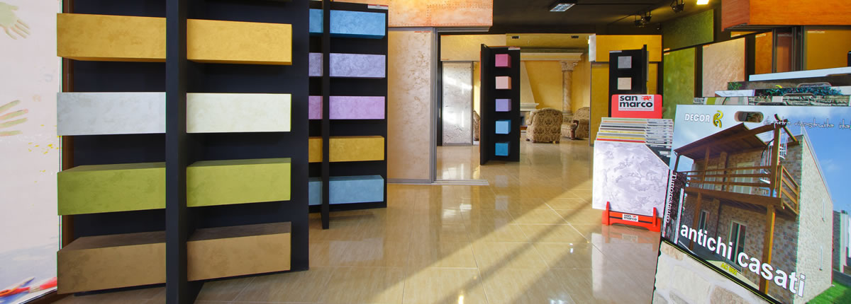 Showroom Decor Color