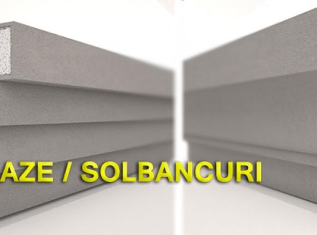 Pervaze si Solbancuri din Polistiren
